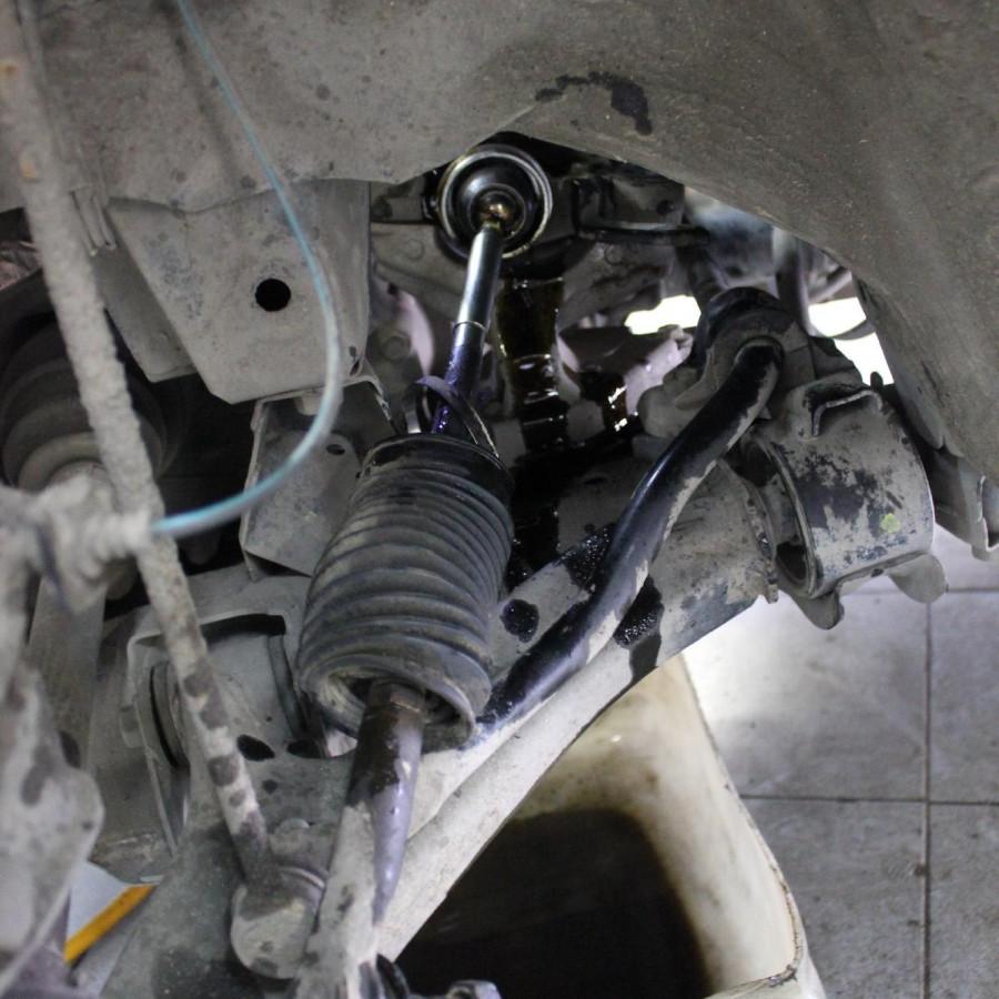 Замена наконечника рулевой тяги